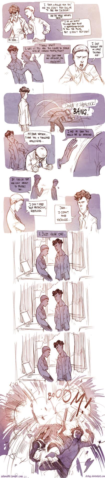 Teen Sherlock - Irene Pt4 by DrSlug