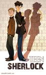 Teen Sherlock - Cover