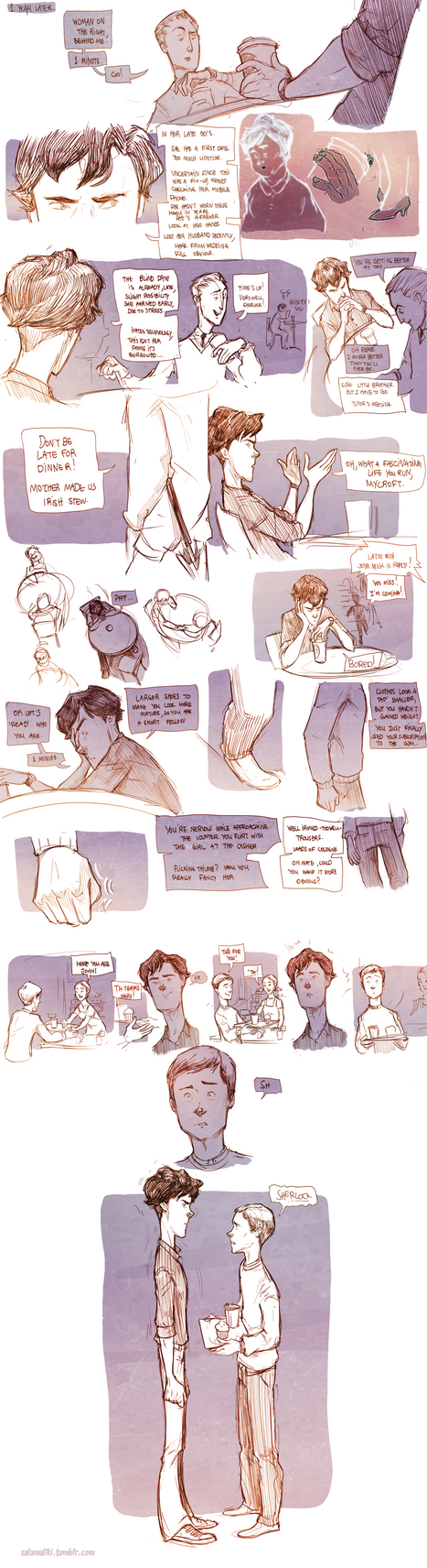 Teen Sherlock - The returns of John Watson by DrSlug