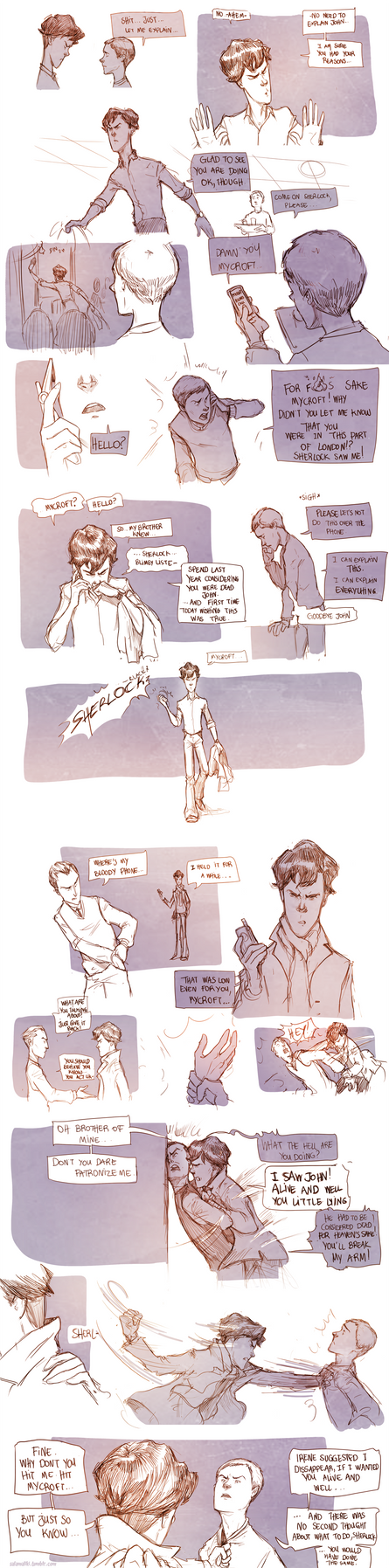 Teen Sherlock the returns of John Watson Pt2 by DrSlug