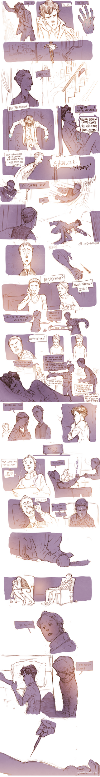 Teen Sherlock - The sign of three Pt2 by DrSlug