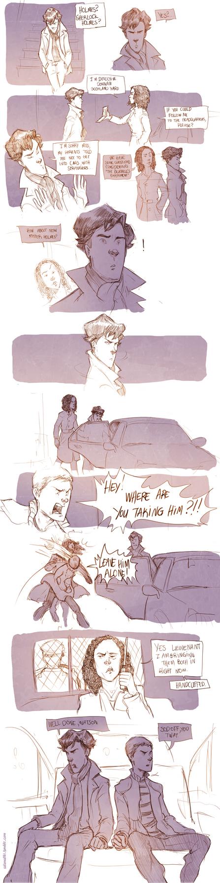Teen Sherlock The Bluebell's Experiment Pt2 by DrSlug