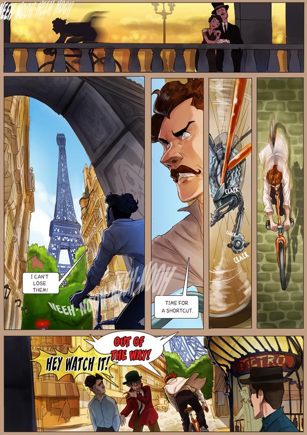 Monsieur Charlatan Page 152 by DrSlug