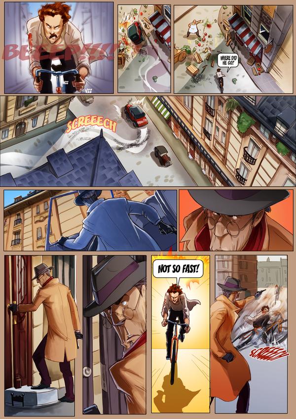 Monsieur Charlatan Page 157 by DrSlug