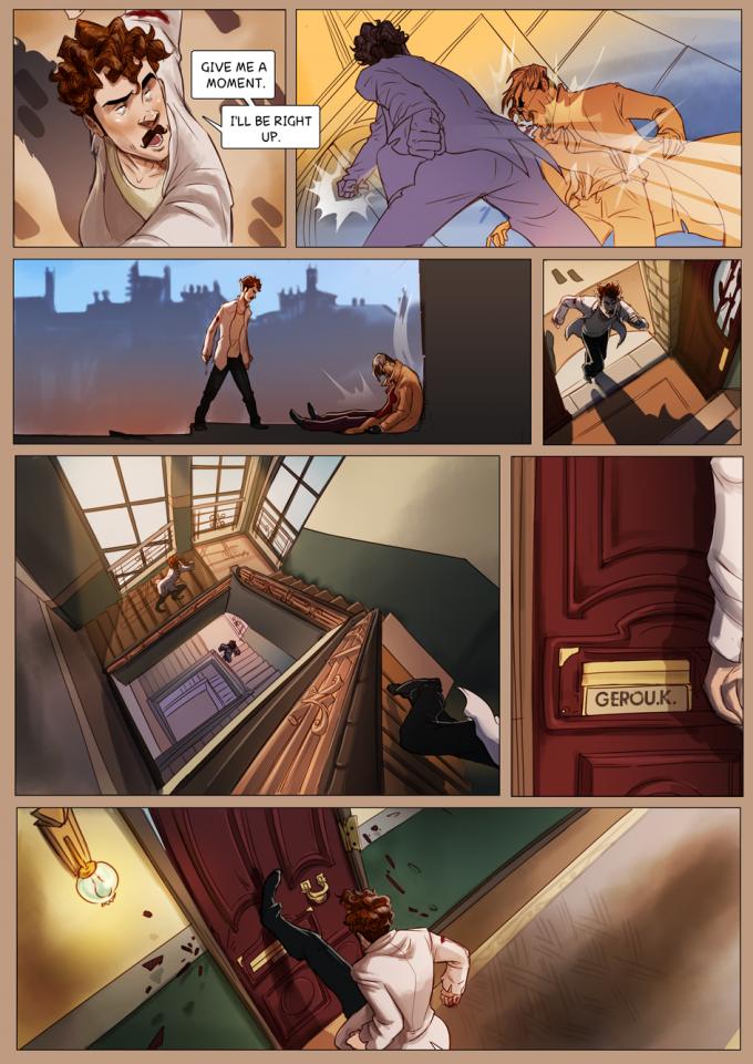 Monsieur Charlatan Page 160 by DrSlug
