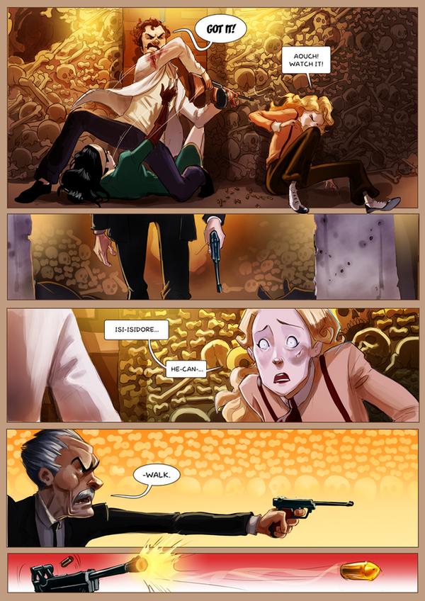 Monsieur Charlatan Page 177 by DrSlug