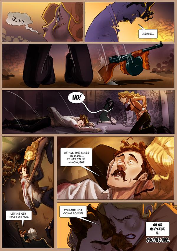 Monsieur Charlatan Page 179 by DrSlug