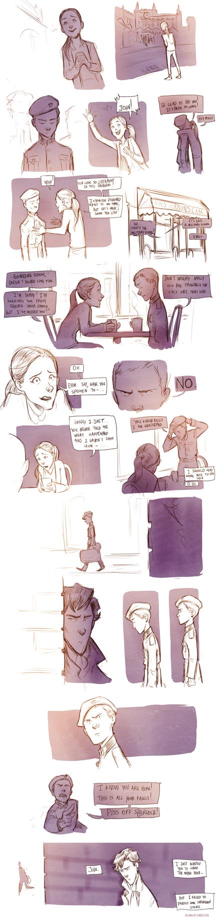 Teen Sherlock - A case of Identity by DrSlug