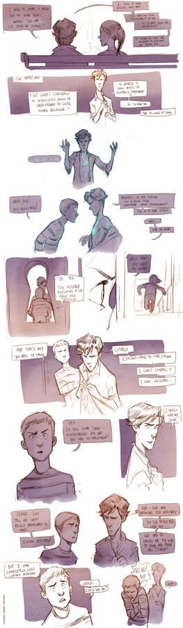 Teen Sherlock A Case Of Identity Pt2