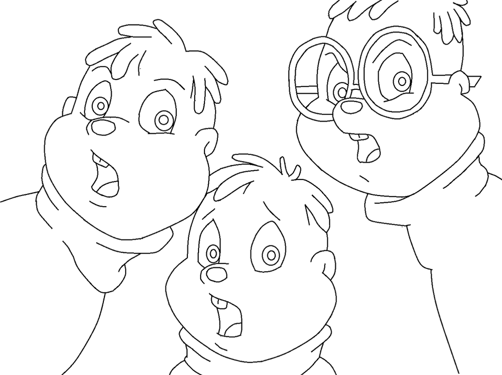 alvin theodore and simon coloring pages bambi download coloring pages alvin simon theodore base hd 5
