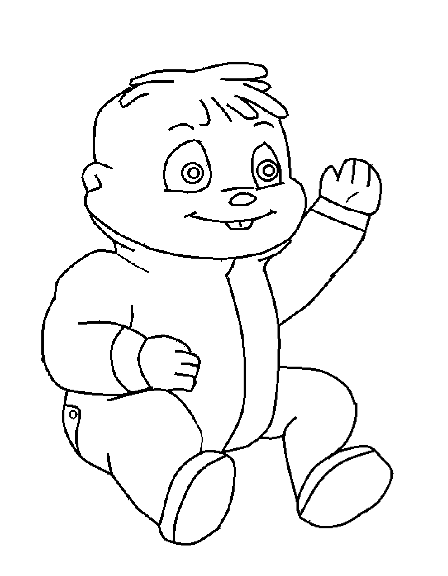 Chipmunks Coloring Pages Free