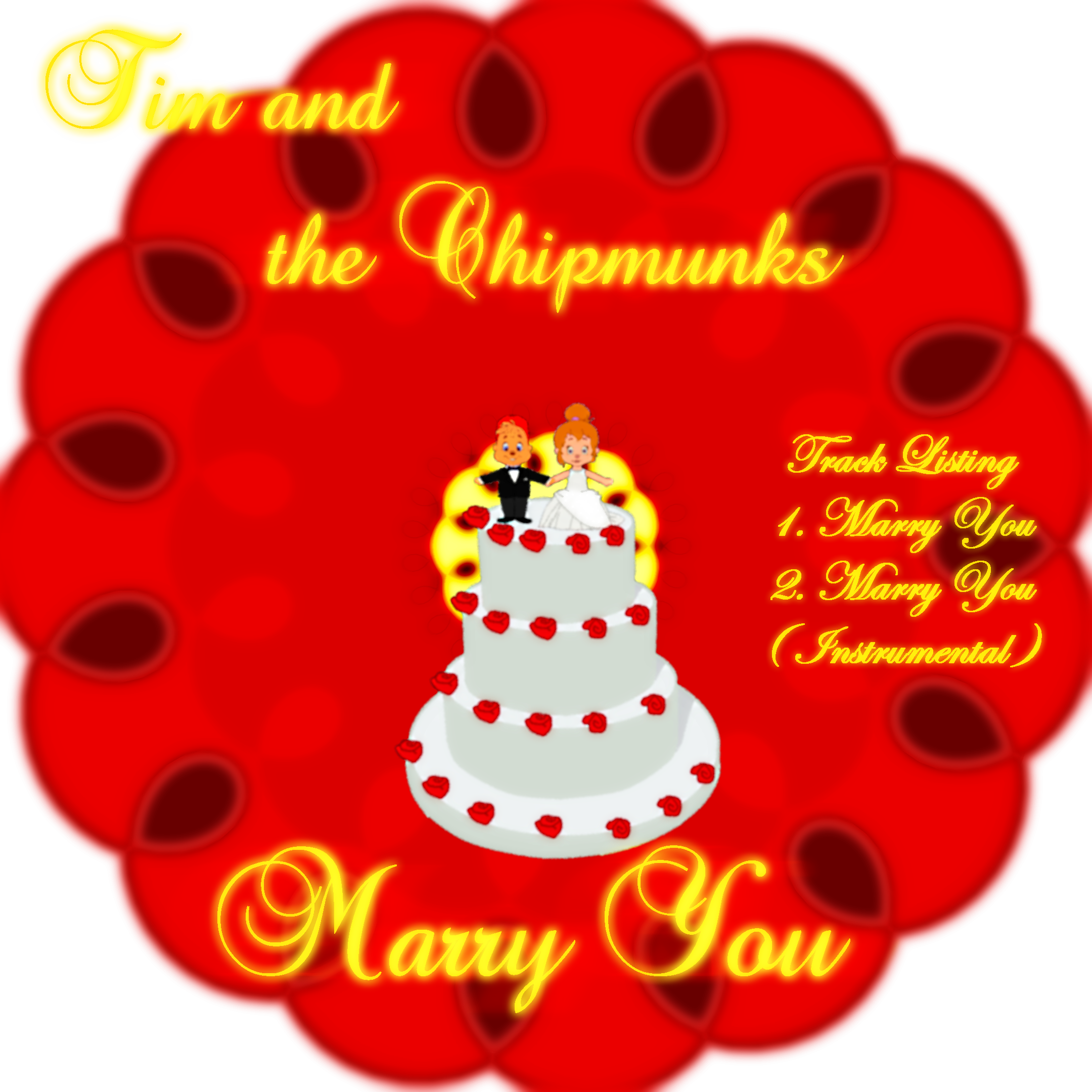 Tim and the Chipmunks - Marry You Album Cover by ...