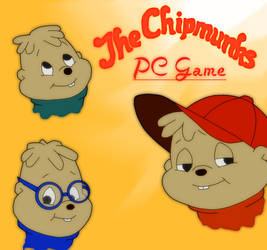 Alvin and the Chipmunks PC Game Cover by FireFoxOmicron