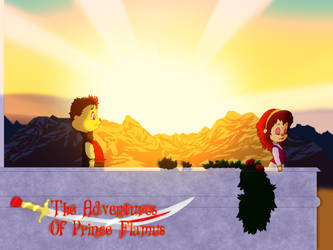 The Adventures Of Prince Flamus - Leaving Again? by FireFoxOmicron