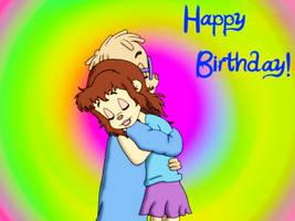 Happy Birthday, Cianablue! by FireFoxOmicron