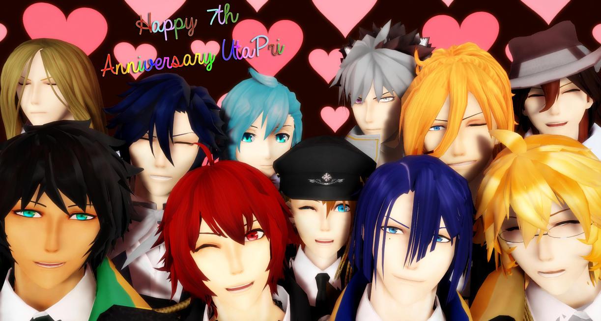 [MMD] Happy 7th Anniversary UtaPri! by AimeeSa