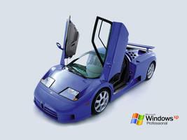 Bugatti Windows XP Wallpaper