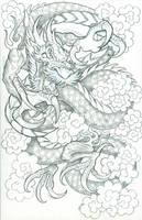 CLOUD DRAGON by CaziTena