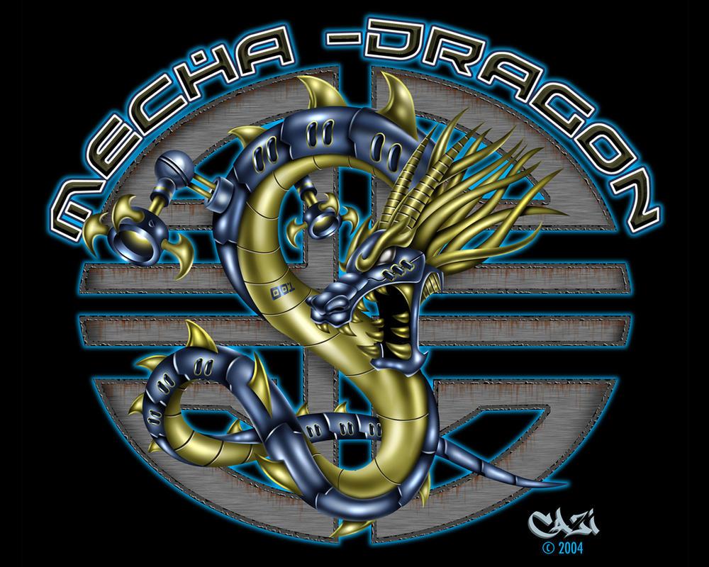 MECHA DRAGON wallpaper by CaziTena