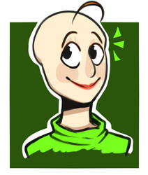 Baldi with lipstick cuz he look good in it by 24195022