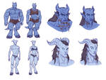 Sexual Dimorphism in WoW Draenei
