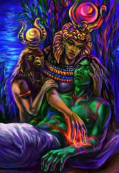 Osiris's Revival by solar-sea