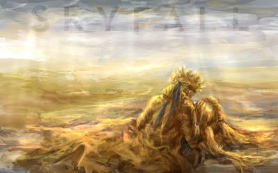Skyfall. Naruto. Tsunade. by solar-sea