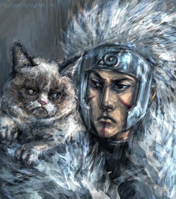 Tobirama the Grumpy King by jesterry