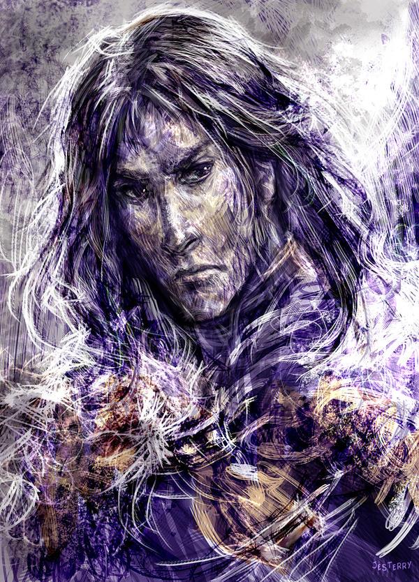 Jon Snow by jesterry