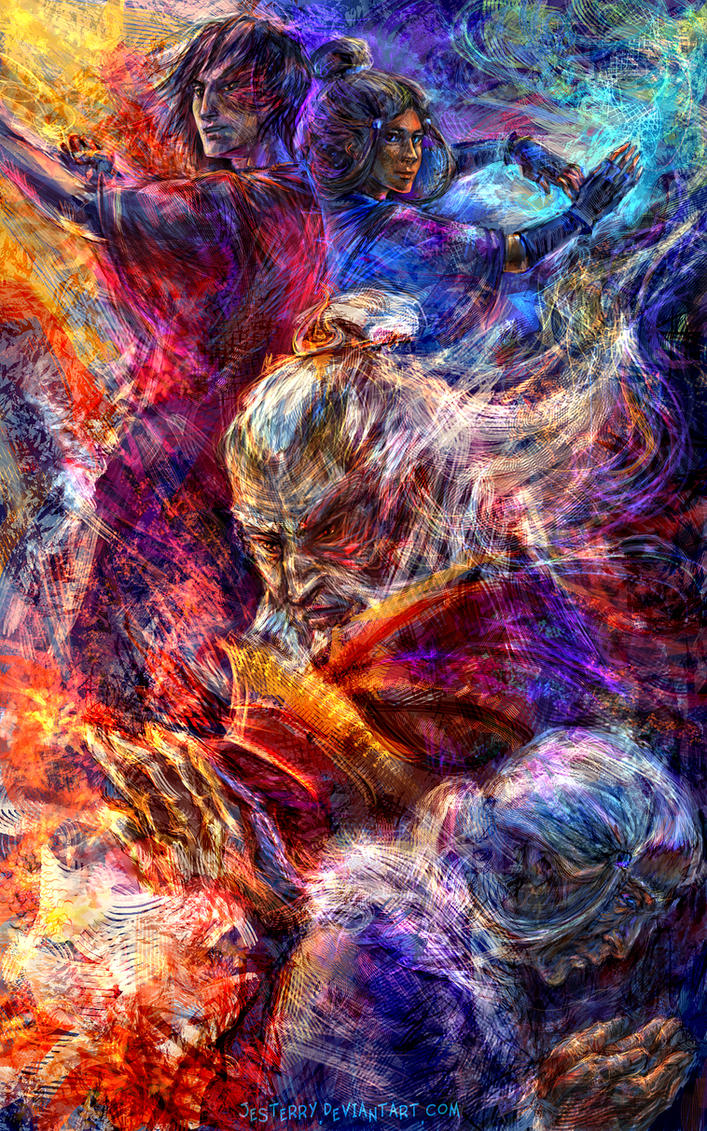 Zutara Week 2014 - Melancholy by jesterry