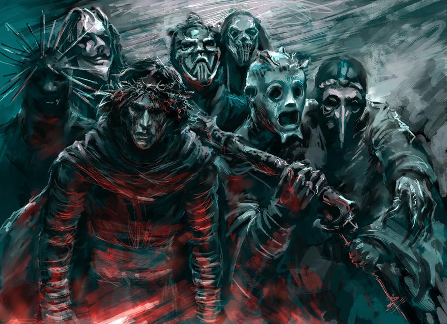 Knights Of Slipknot Ren by jesterry