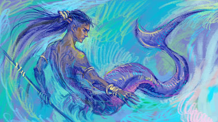 Mermay Otabek by solar-sea