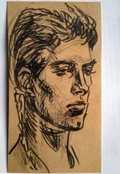 padawan anakin sketch by solar-sea