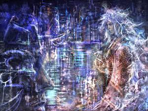 Amegakure Cyberpunk