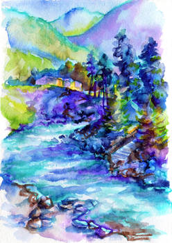 Morning Riverbank