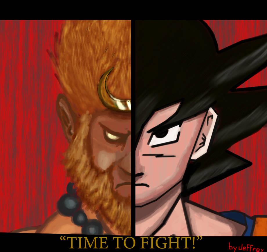 Just some Sun wukong and Goku fan art by xZambiex on DeviantArt