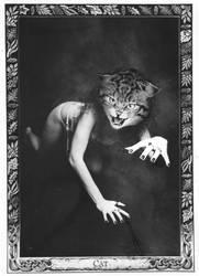 oracle card cat by lelfling