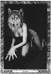 oracle card wolf by lelfling