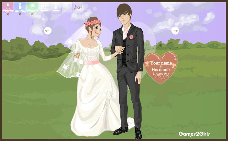 FOREVER: A Wedding Dressup by WonderfulKrista