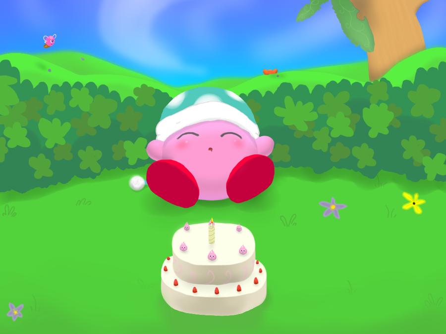 Kirby's 20th! by AtaruHidiyoshi