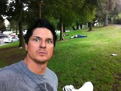 Zak at the park by MJandGhostAdventures