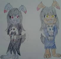 ~Annabelle and Belladonna~ by GalaticKaiju