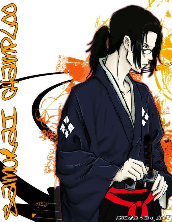 Samurai Champloo-Jin by =kingv on deviantART