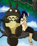LianMei and Totoro