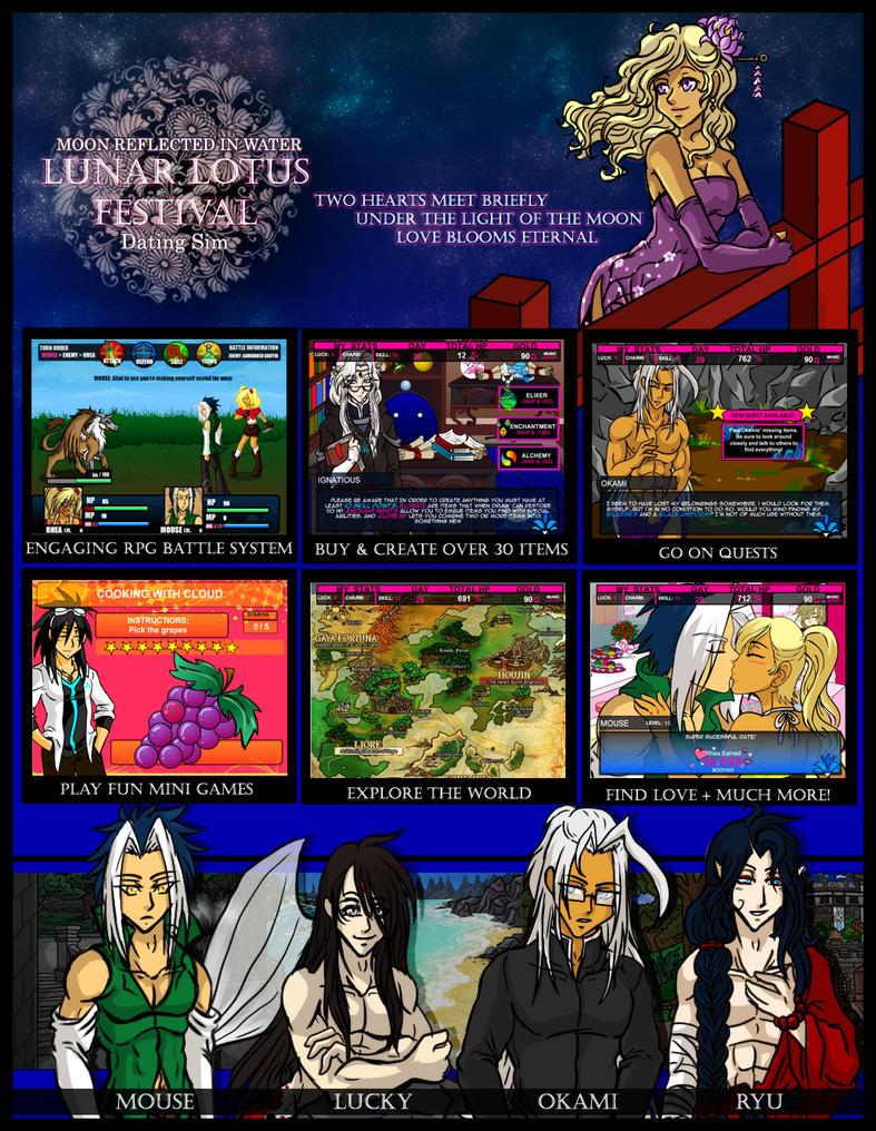 Lunar Lotus Festival Promo by kingv