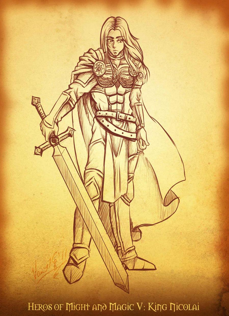 Commission: King Nicolai by kingv