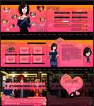 Commission: Falling Hearts GUI
