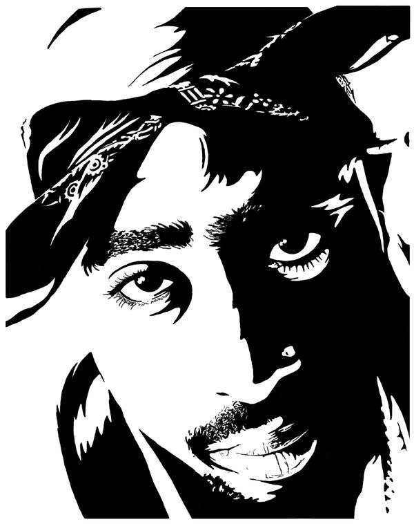 Tupac Effect by uMpeh on DeviantArt