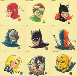 Sticky Note Sketches - DC