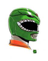 Green Ranger by WillRipamonti